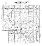 Amanda Township, Conant, Kemp, Allen County 1946